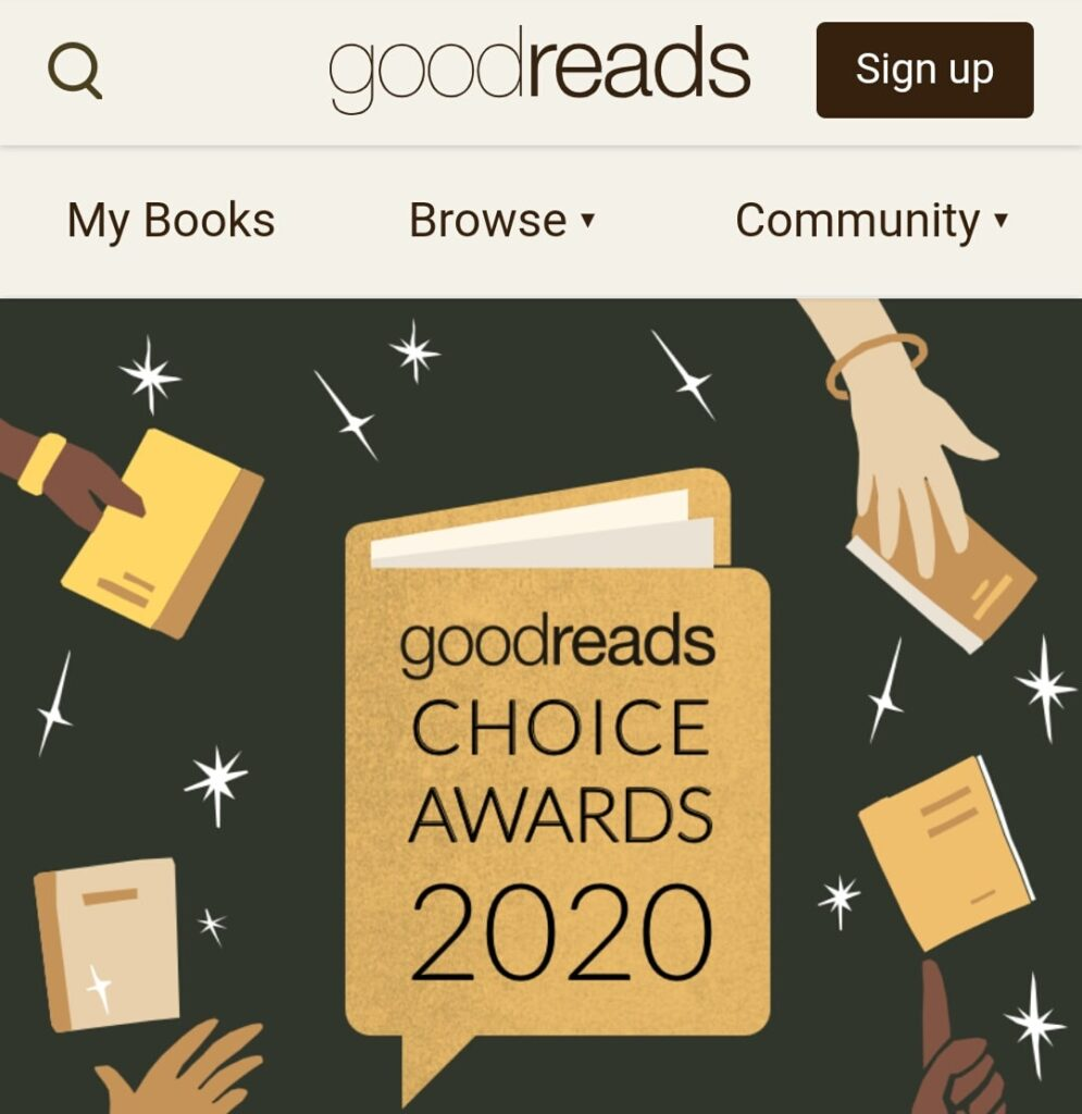 Search using Goodreads
