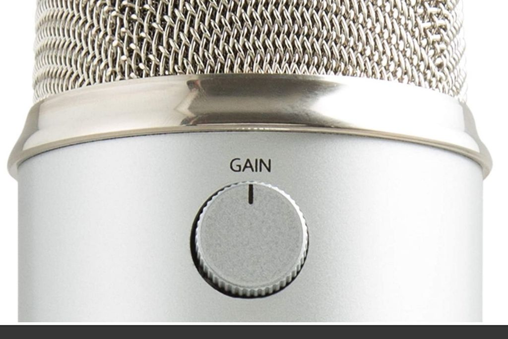 How High should be the Gain on the Blue Yeti Microphone